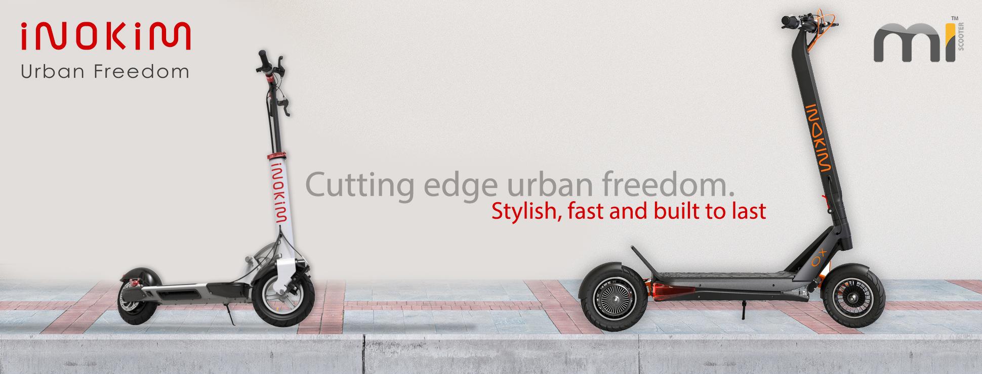 Inokim Electric Scooters - Mi Scooter UK - East Midlands - Authorised UK Sales
