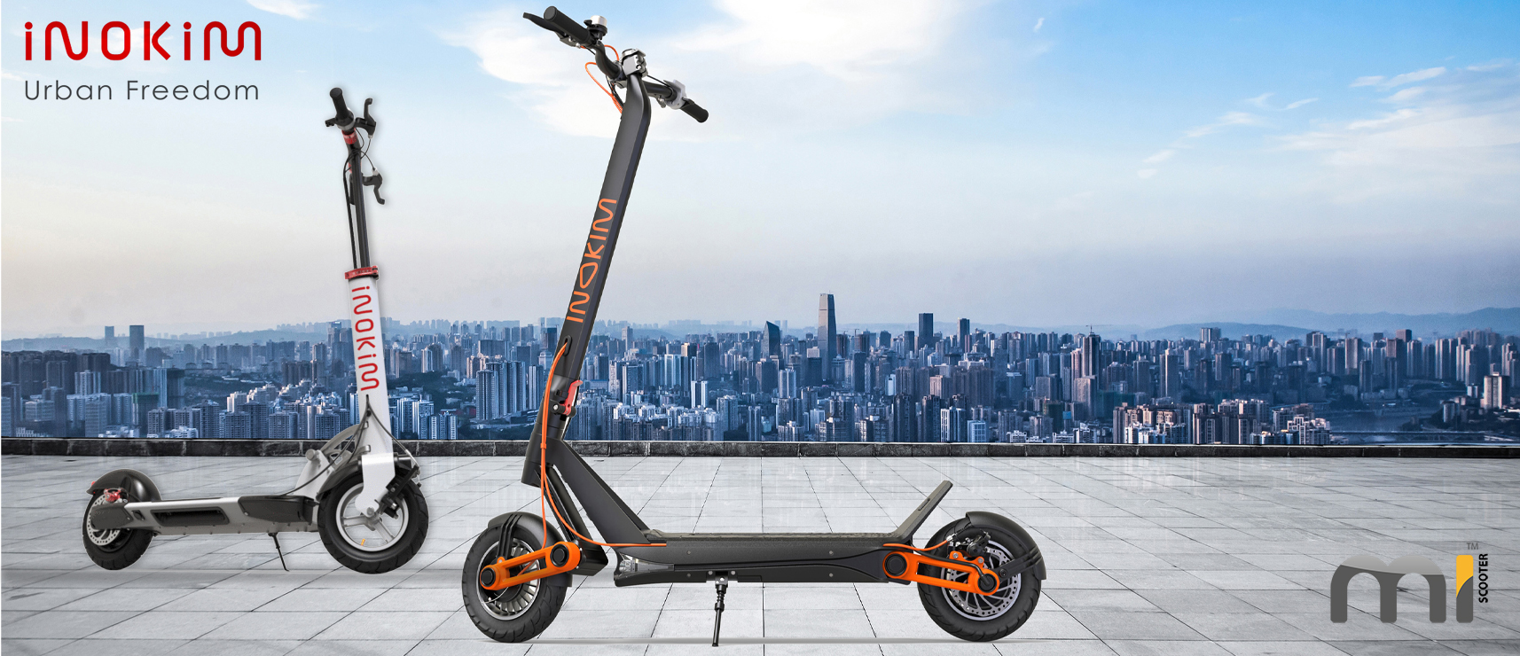 Inokim OXO Advanced Electric Scooters - Mi Scooter UK - East Midlands - Authorised UK Sales