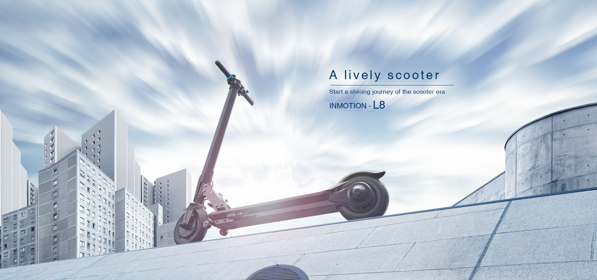NMOTION E-Scooter L8/L8F
