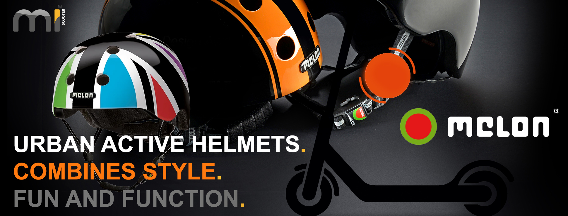 Melon Scooter Helmets - UK Authorised Distributer - Call Us Today