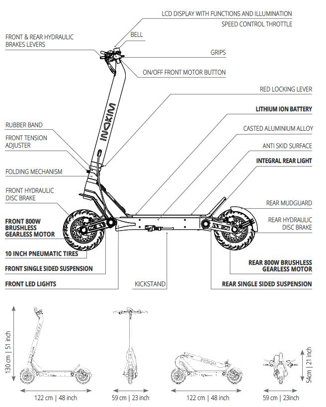 IInokim OXO - Spec Sheet