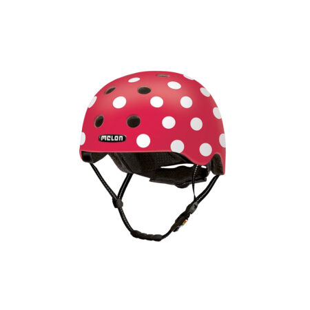 Scooter Helmet Urban Active Dotty White - Melon Helmets