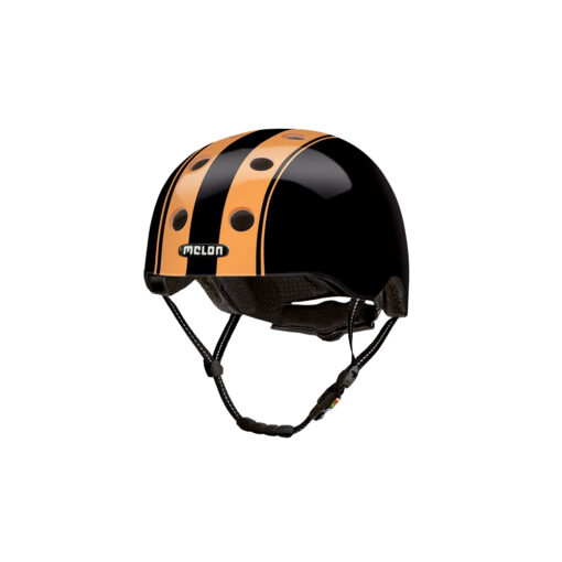 Scooter Helmet Urban Active Double Orange Black - Melon Helmets