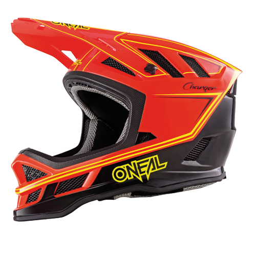 O'Neal Blade Helmet Charger Neon Red - E Scooter