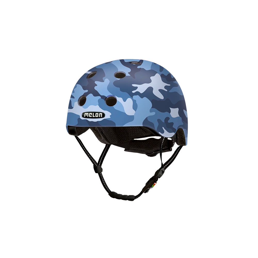 E Scooter Helmet Urban Active Camouflage Blue - Melon Helmets
