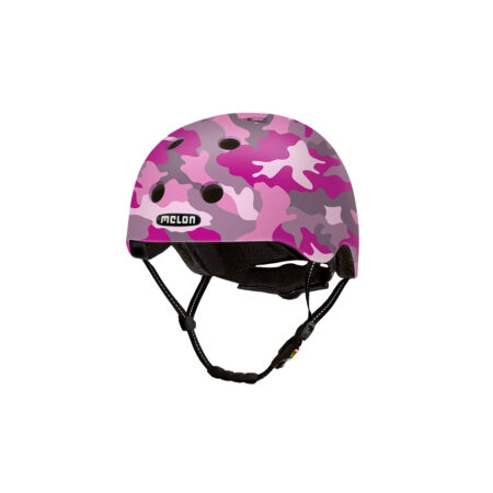 E Scooter Helmet Urban Active Camouflage Pink - Melon Helmets