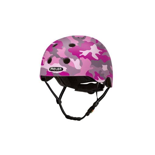 E Scooter Helmet Urban Active Camouflage Pink - Melon Helmets