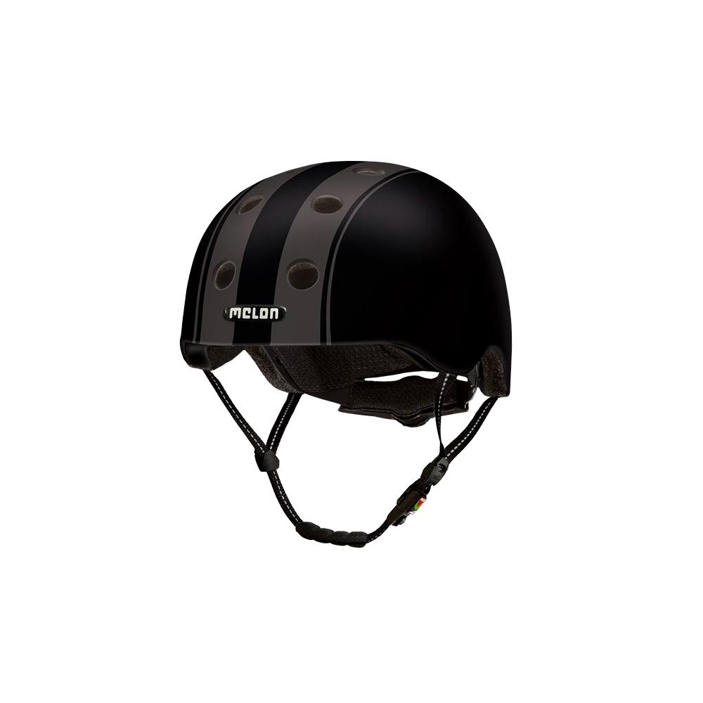 E Scooter - Bicycle Helmet Urban Active Decent Double Black - Melon Helmets