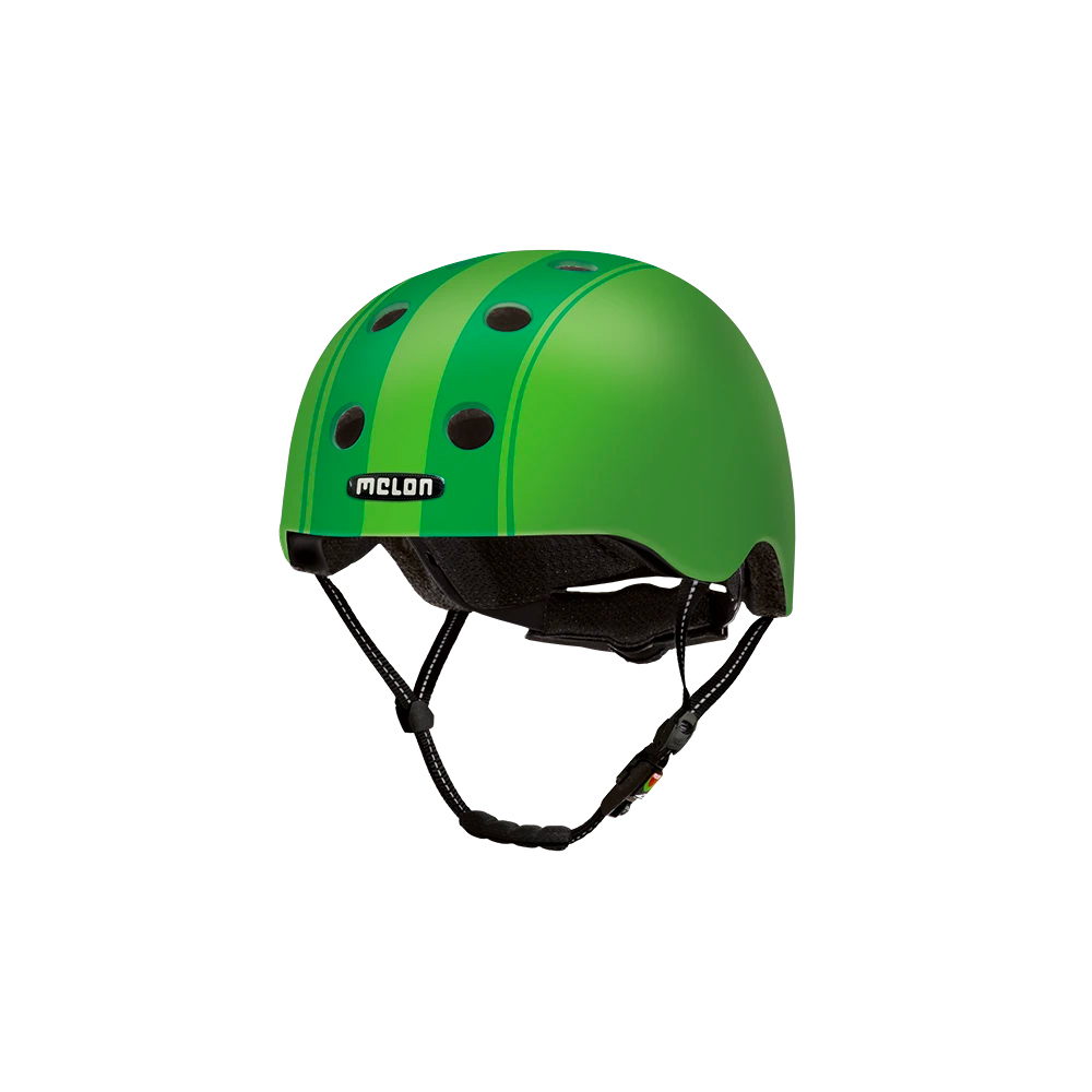 E Scooter Helmet Urban Active Decent Double Green - Melon Helmets