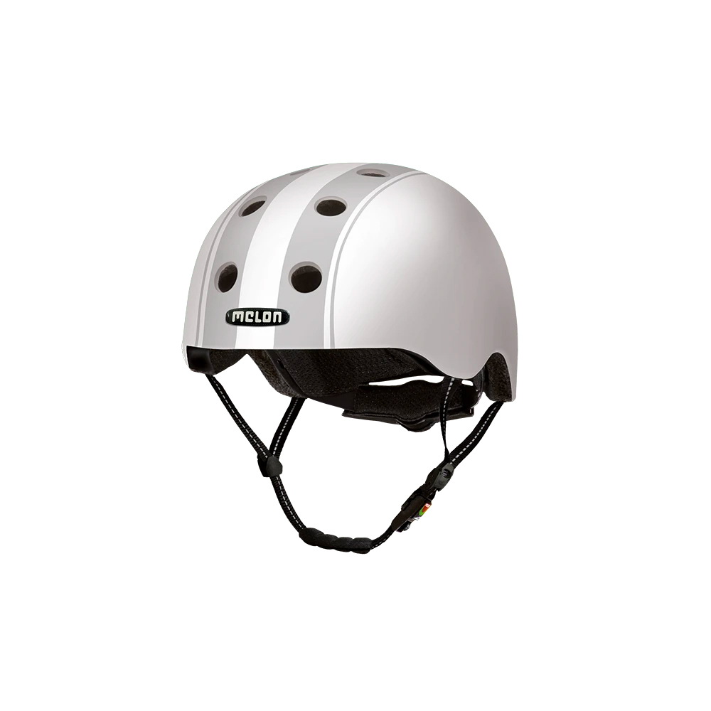 E Scooter Helmet Urban Active Decent Double Grey - Melon Helmets