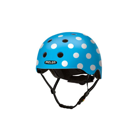 E Scooter Helmet Urban Active Dotty Blue - Melon Helmets