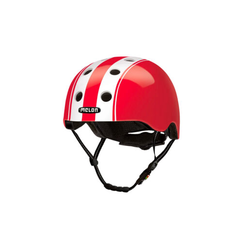 E Scooter Helmet Urban Active Double White Red - Melon Helmets