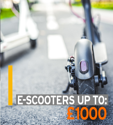 Electric Scooter Up To £1000