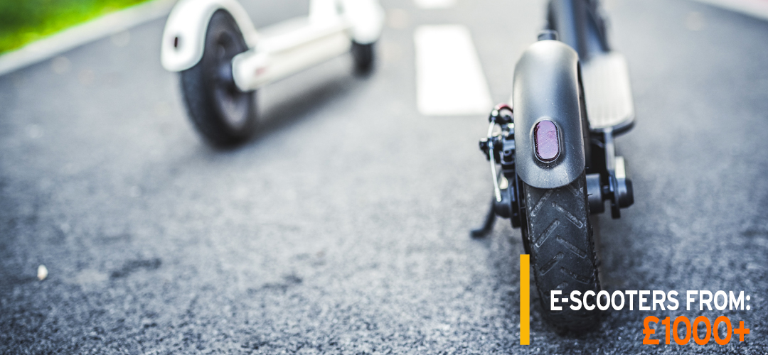 Electric Scooters From £1000 + Egret - Inokim