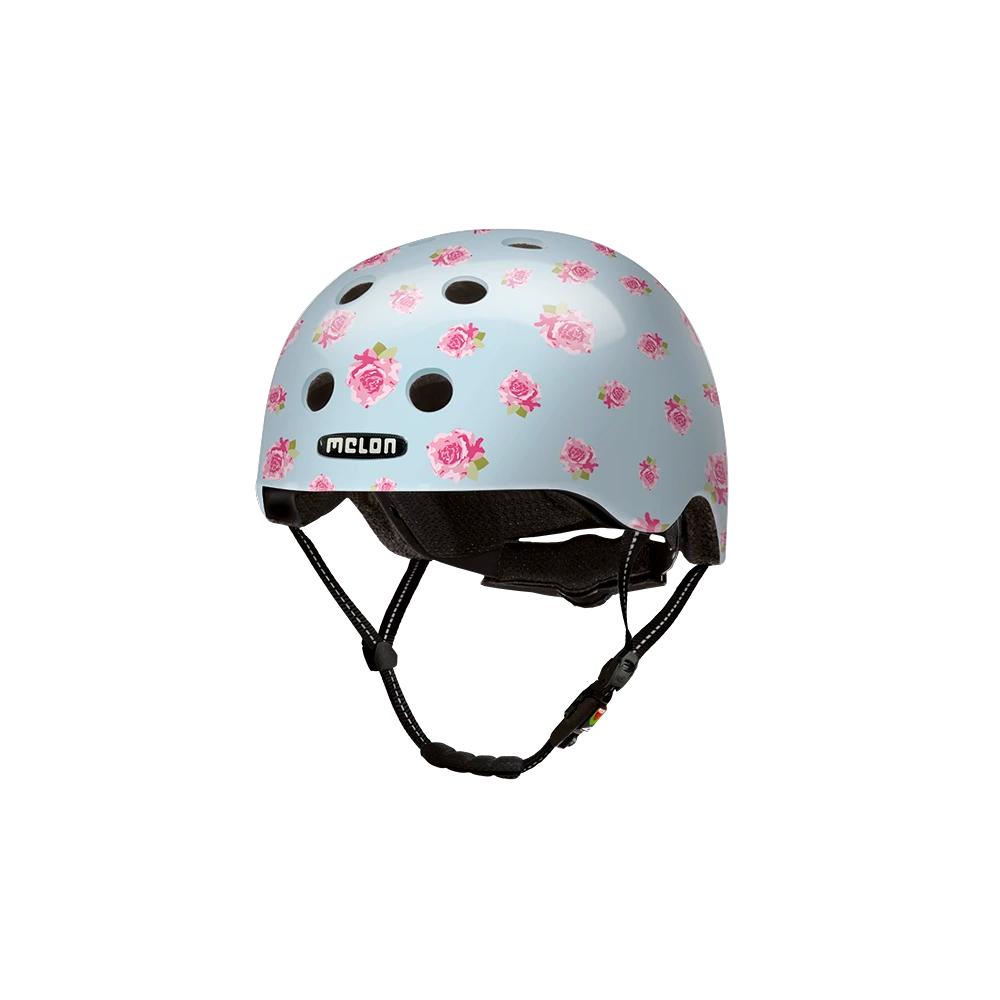 E Scooter Helmet Urban Active Flying Roses - Melon Helmets