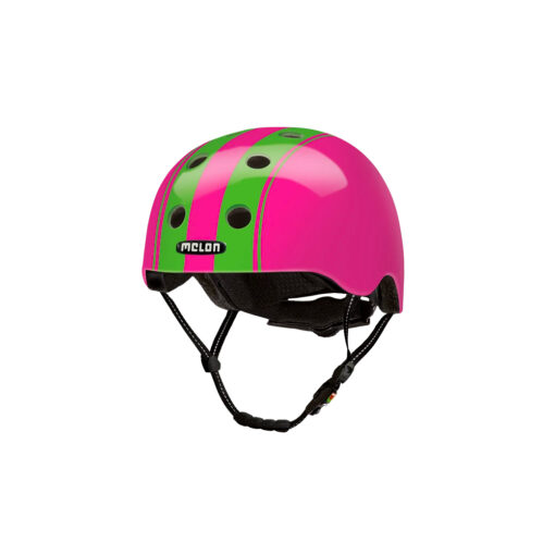 E Scooter Helmet Urban Active Double Green Pink - Melon Helmets