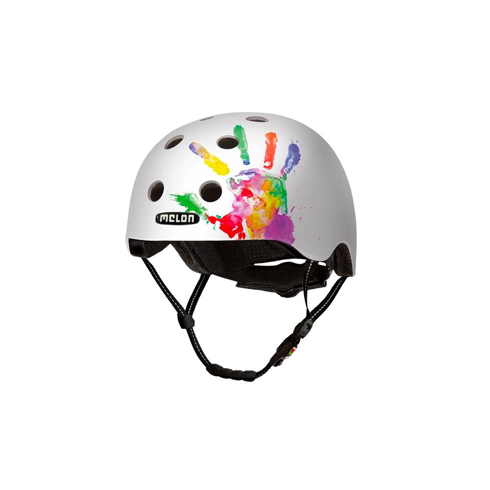 E Scooter - Bicycle Helmet Urban Active Handprint - Melon Helmets