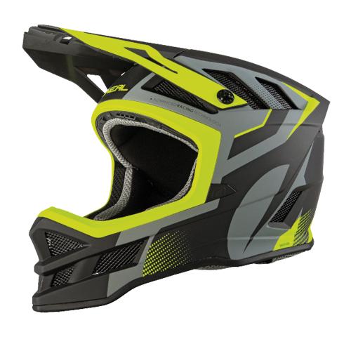 O'Neal Hyperlite IPX? Helmet OXYD Grey/Neon Yellow - E Scooter