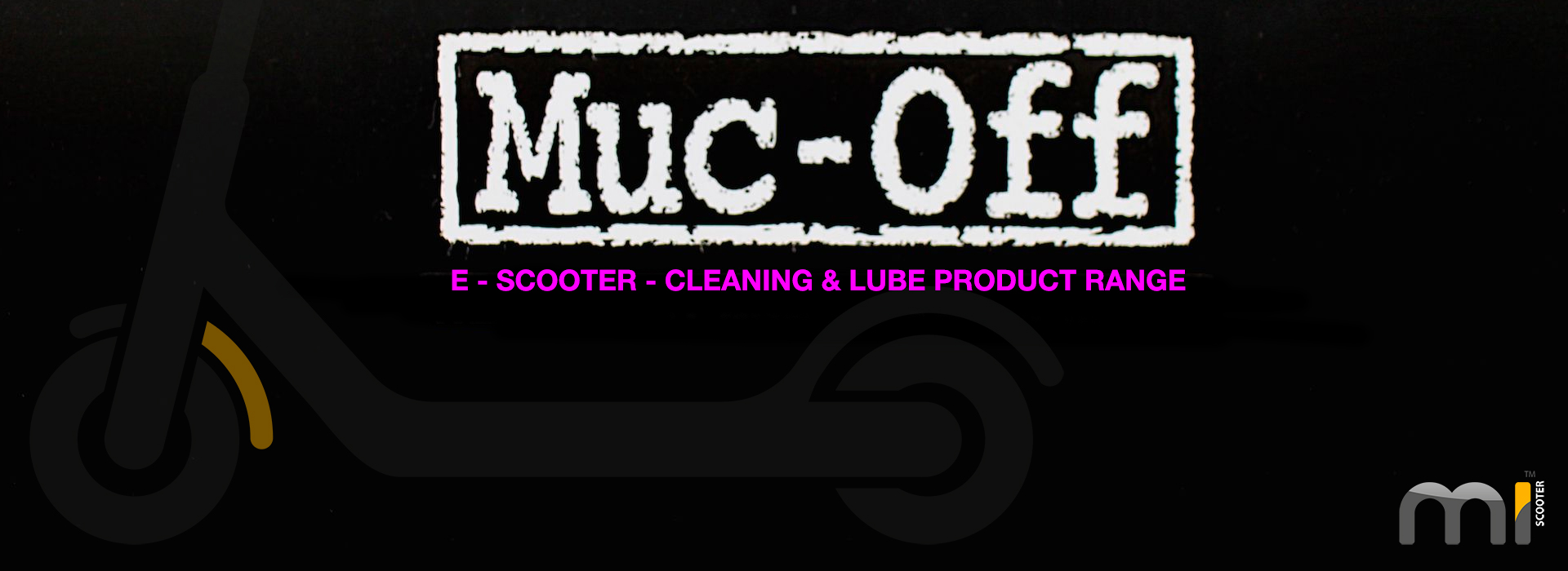 Muc-Off - E Scooter Cleaning & Lube Products - Mi-Scooter