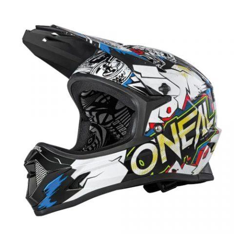 O'Neal Backflip Youth Helmet Villain White - E Scooter