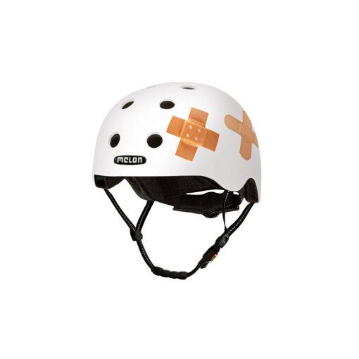 E Scooter Helmet Urban Active Plastered White - Melon Helmets