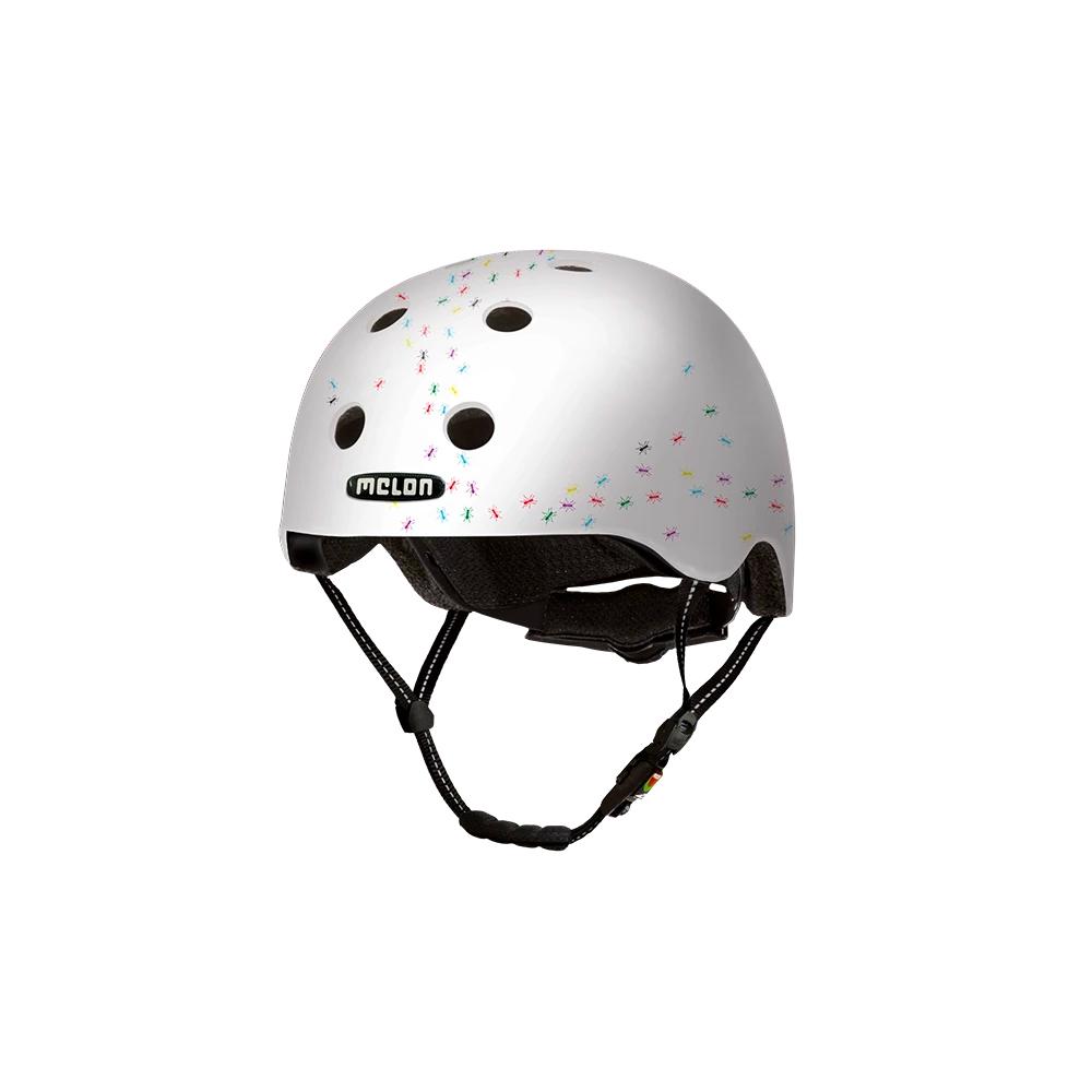 E Scooter - Bicycle Helmet Urban Active Pop Ants - Melon Helmets