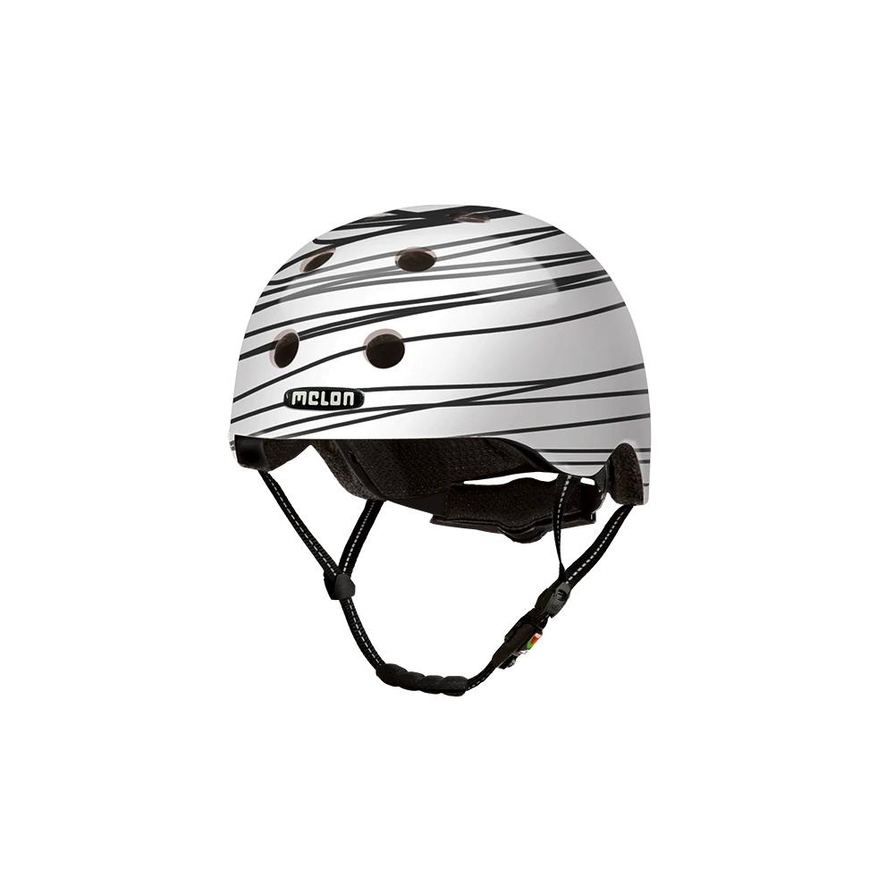 E Scooter Helmet Urban Active Scribble - Melon Helmets