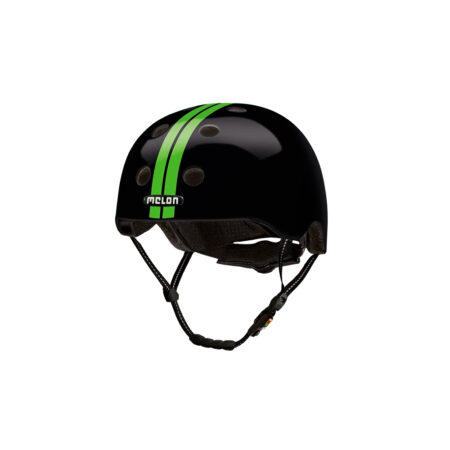 E Scooter Helmet Urban Active Straight Green Black - Melon Helmets