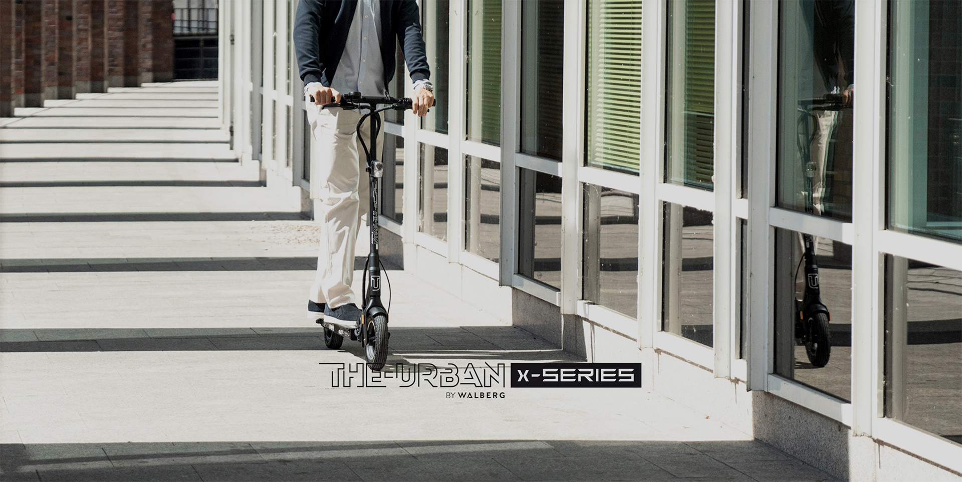 THE-URBAN X-SERIES BY WALBERG - E Scooter range - Mi Scooter UK