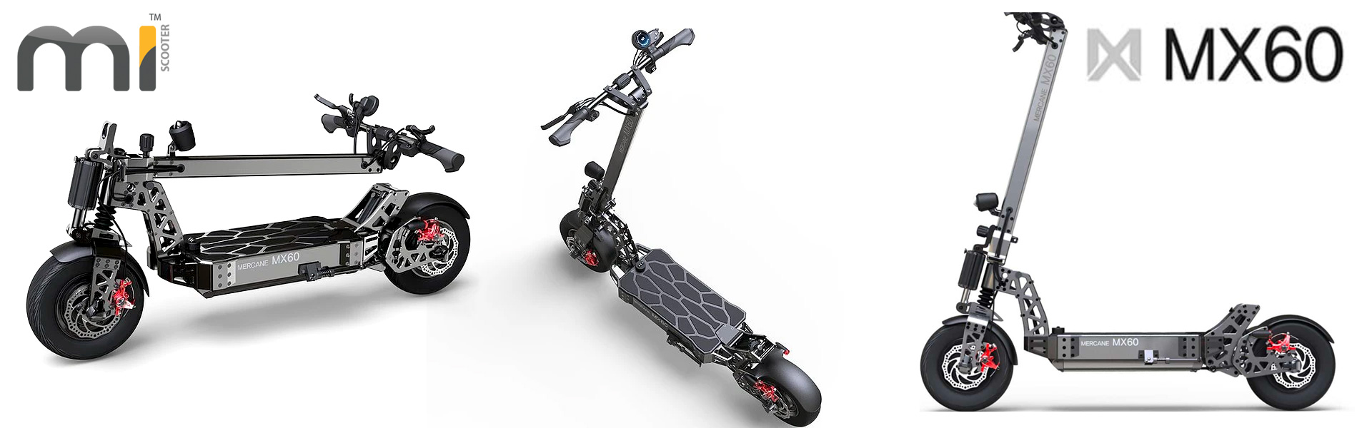 2020 New Mercane MX60 Smart Electric Scooter 2400W 60km/h