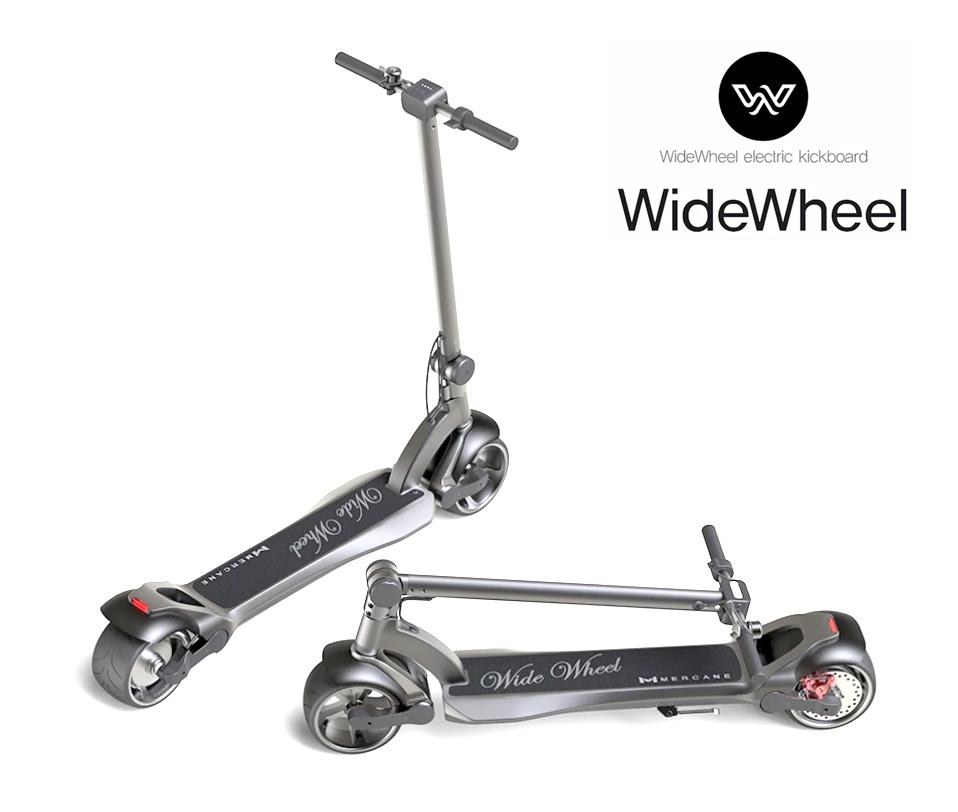 Mercane WideWheel Pro - Mi Scooter