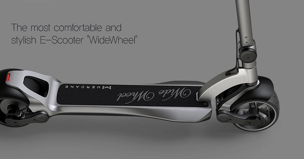 Mercane Wide Wheel Pro - Mi Scooter