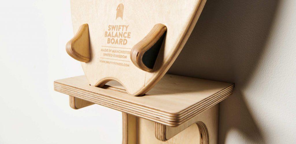 Swifty Balance Boad - DISPLAY YOUR BOARD ON THE WALL