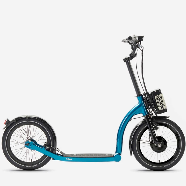 Swifty | SwiftyAIR-e – Atlantic Blue | Electric Scooter | Dirt Scooter