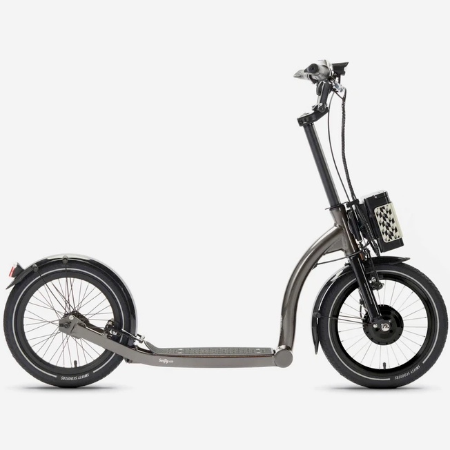 Swifty | SwiftyAIR-e – Anthracite | Electric Scooter | Dirt Scooter