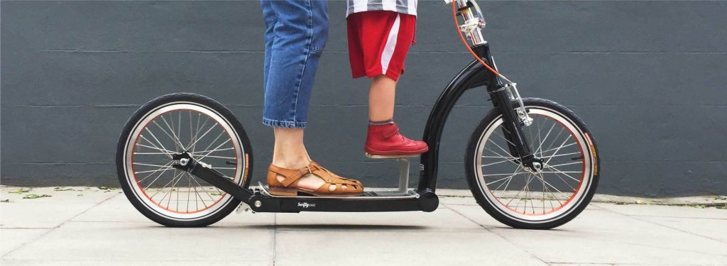 Swifty Booster - To ride in tandem with your little-one