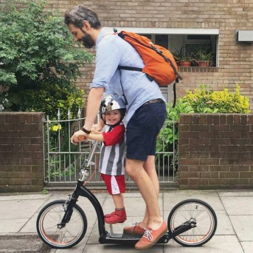 Swifty Booster - ride in tandem with your little-one